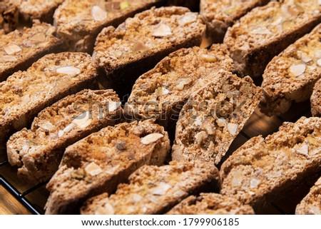 Vers Italiaans cookies amandelen witte Stockfoto © marylooo