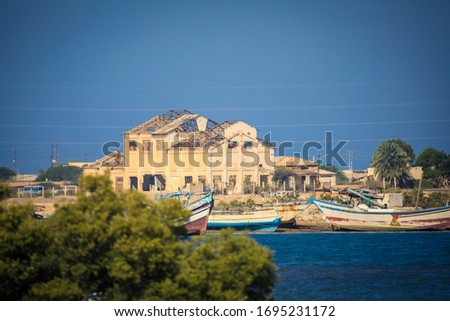 massawa eritrea east africa port city red sea architecture build Stock photo © travelphotography