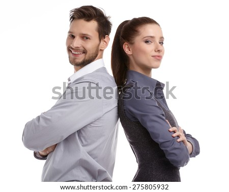 portrait of male and female student Stock photo © photography33