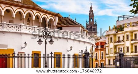 verekedés · aréna · Spanyolország · város · tájkép · utazás - stock fotó © billperry