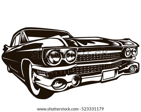 Vintage American car Stock photo © bmonteny