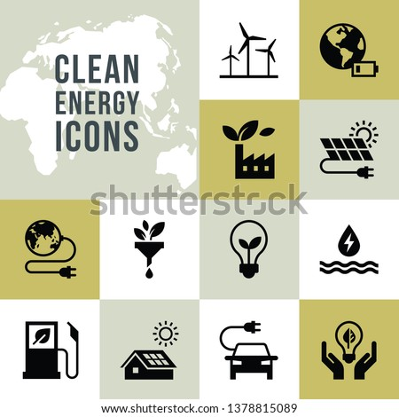 Eco huis illustratie groene energie klein grond Stockfoto © WaD