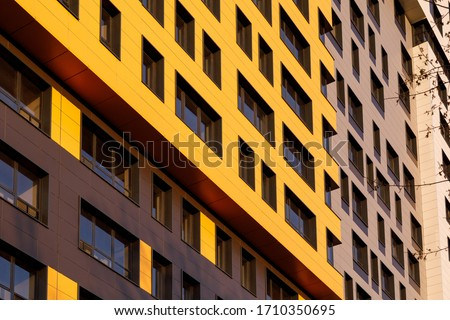Modern Residential Building Stock photo © cosma