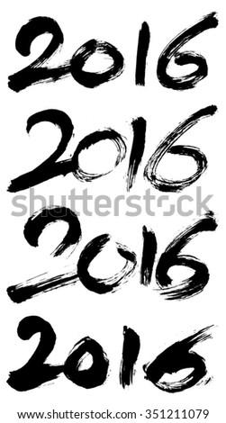 happy · new · year · harfler · yakacak · odun · mutlu · kart - stok fotoğraf © arzawen