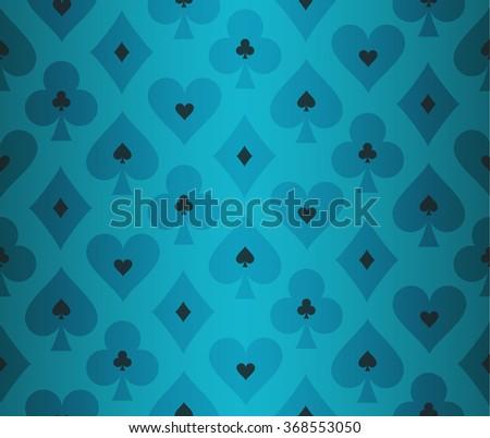 Sem costura pôquer transparente efeito cartões símbolos Foto stock © liliwhite