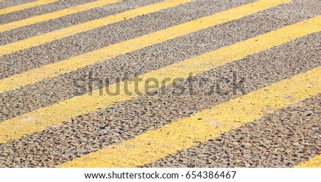 pederastian crossing in asphalt street and abstract background stock photo © meinzahn
