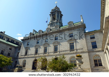 The Portland City Hall is the center of city government in Port Stock photo © CaptureLight