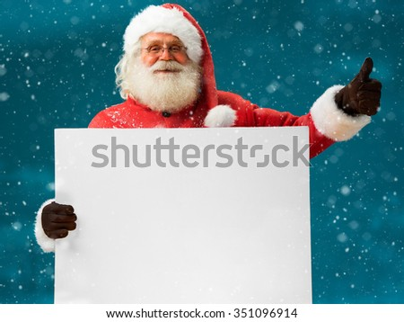 papai · noel · vermelho · papel · mãos · tabela - foto stock © popaukropa