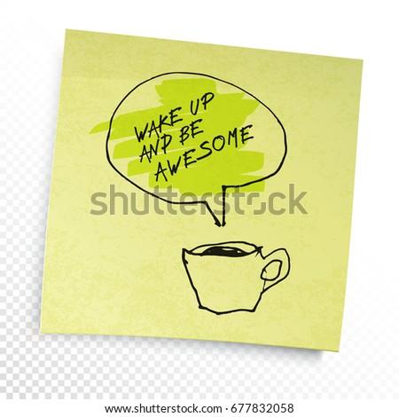 wektora · w · górę · kawy · pomysł · bazgroły · spodek - zdjęcia stock © pashabo