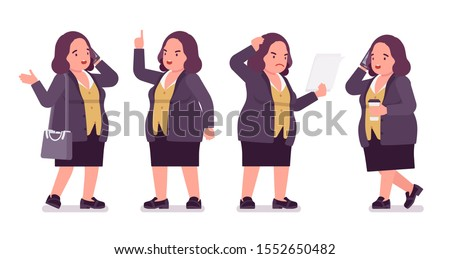 Illustration that a middle-aged woman consults a female pharmaci Stock photo © yamayo74