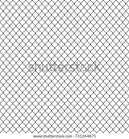 Rabitz seamless pattern. Mesh netting ornament. Mesh fence backg Stock photo © popaukropa
