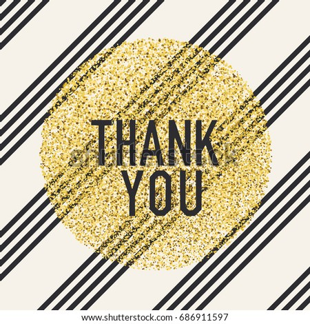 Thank you. Invitation card design template. Diagonal lines patte Stock photo © pashabo