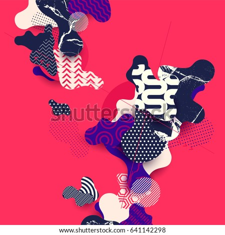 abstract · business · banner · modello · set - foto d'archivio © davidarts