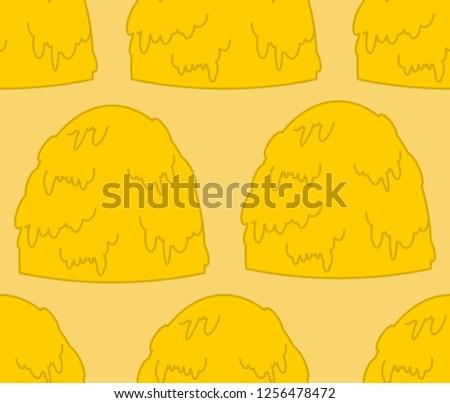 Hooiberg patroon hooi grond textuur Stockfoto © popaukropa