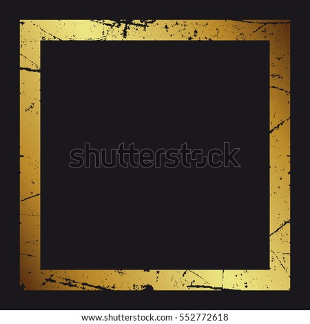 Grunge stamped decorative rectangle frame. Square design templat Stock photo © pashabo