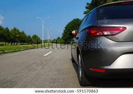 Man relaxing in car on a sunny day Stock photo © wavebreak_media