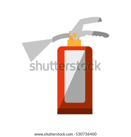 Tűzoltó készülék clipart kép eps akta tűz Stock fotó © vectorworks51