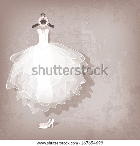 elegant bride posing in white dress with wedding bouquet, isolated on white Stock photo © LightFieldStudios