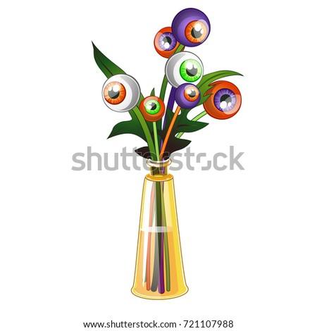 珍しい 花束 人間 目 孤立した ストックフォト © Lady-Luck