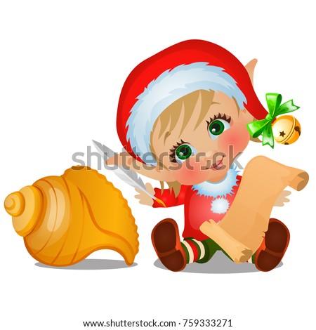 выделите · Рождества · Hat · бумаги · искусства · зима - Сток-фото © lady-luck