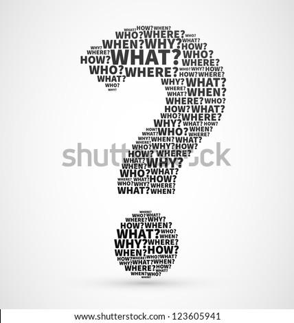 Vraagteken teken icon vector denken vinden Stockfoto © pikepicture
