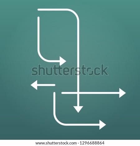 бизнеса · брошюра · листовка · шаблон · стрелка · геометрический - Сток-фото © kyryloff
