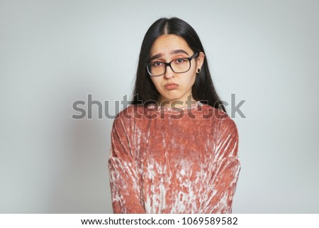 üzletasszony visel rózsaszín öltöny lábak keresztbe pózol Stock fotó © feedough
