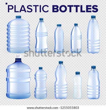 plástico · botella · vector · mineral · beber · clásico - foto stock © pikepicture