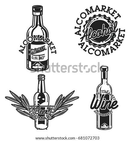 cor · emblema · modelo · vetor · colorido - foto stock © netkov1