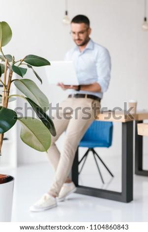 фото элегантный человека белый Сток-фото © deandrobot