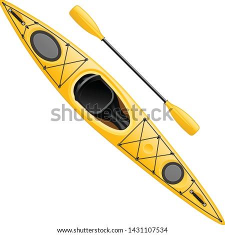 water · zee · sport · roeien · rafting · kajak - stockfoto © winner