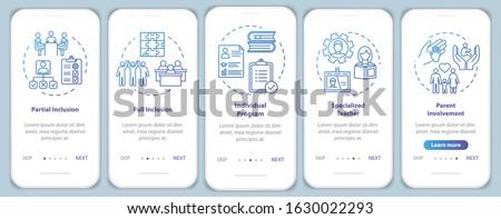 Foto stock: On-line · educação · digital · internet · menu