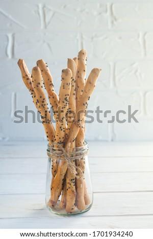 Italiaans brood vers snack Stockfoto © marylooo