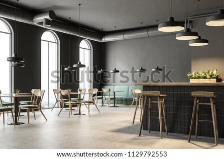 sofá · canto · quarto · parede · luz · mobiliário - foto stock © pressmaster