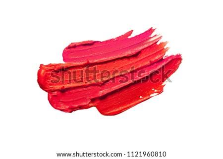Purple неоновых кистью текстуры изолированный черный Сток-фото © Anneleven