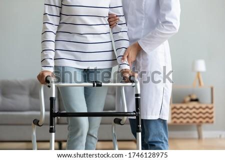 Medische professionele permanente patiënt procedure uniform Stockfoto © pressmaster