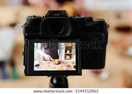 カメラ ビデオ マスター クラス ハンドメイド ストックフォト © pressmaster