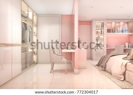 современных розовый Председатель минимализм интерьер мебель Сток-фото © Victoria_Andreas