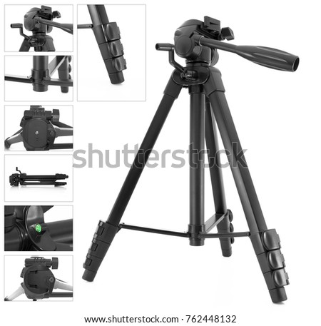 Front view of professional Dslr camera body with vertical grip Stock photo © Arsgera