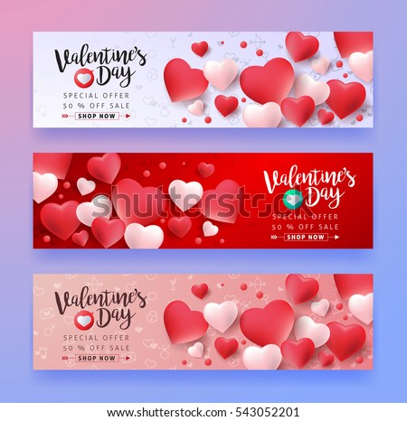Set valentine's day red icon Stock photo © Ecelop