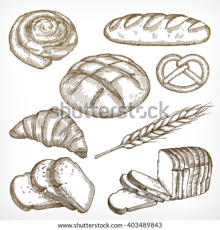 sliced loaf of rustic bread stock photo © rob_stark