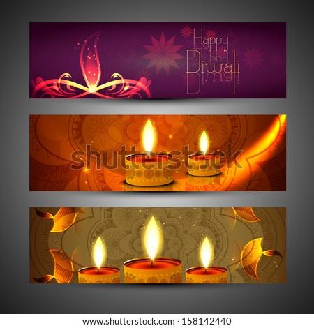 美しい セット 3  ディワリ 明るい カラフル ストックフォト © bharat