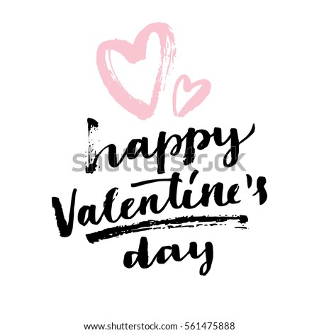 Beautiful hearts for be my valentine's day typography text color Stock photo © bharat