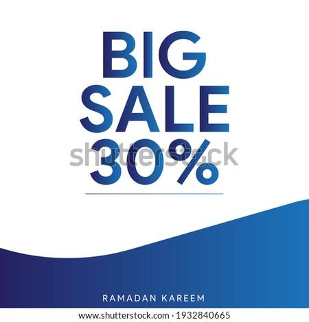 Brochure template ramadan kareem bright blue colorful creative r Stock photo © bharat