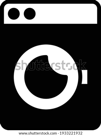 Textile care symbol and laundry symbol drum drying in general Stock photo © Ustofre9