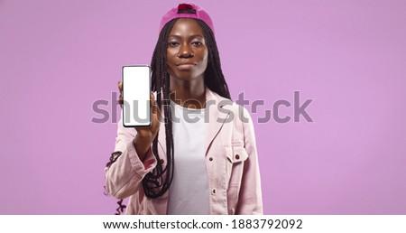 Сток-фото: портрет · улыбаясь · афро · американский · женщину
