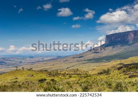 The view from the plateau of Roraima on the Grand Sabana - Venezuela, Latin America  Stock photo © Mariusz_Prusaczyk