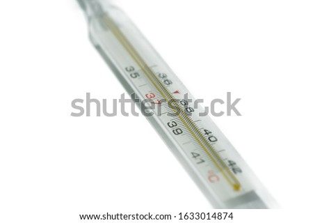 El tıbbi termometre insan vücut Stok fotoğraf © stevanovicigor