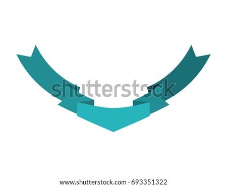 Cinta aislado plantilla azul decorativo cinta Foto stock © popaukropa
