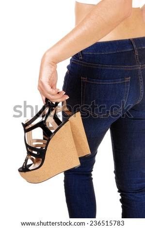 Foto trasero atrás estilo de vida moda personas Foto stock © iordani